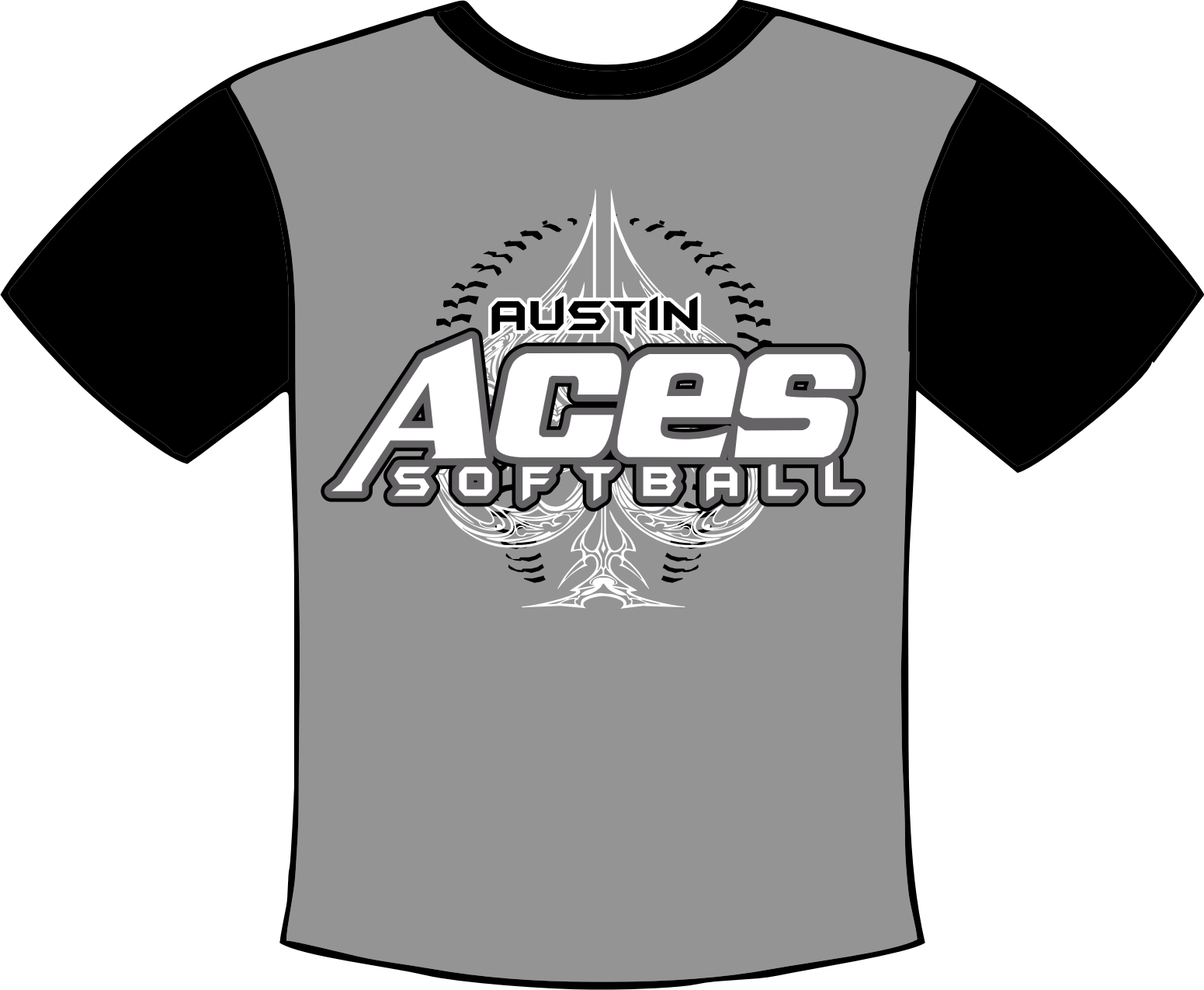 Graphic design dp sports inc houston double play softball for Athletic t shirt design ideas